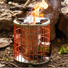 horizon stove rechaud a bois portable type poele fusee inox anevay stove
