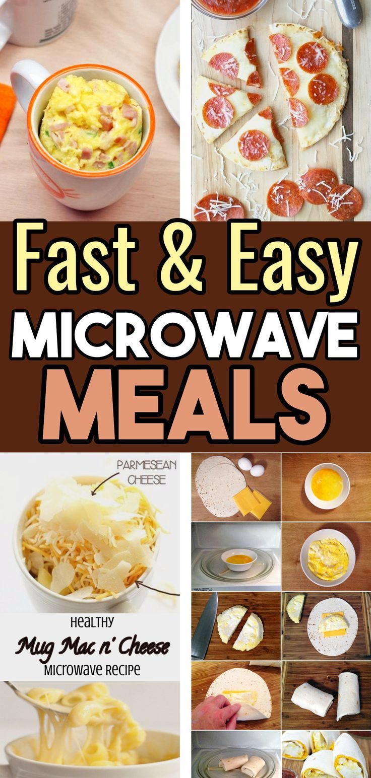 easy microwave recipes to save time and