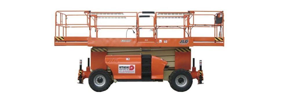Utleieseenteret sakselift diesel
