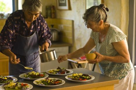 Béatrice et Henry en cuisine - Utopaille