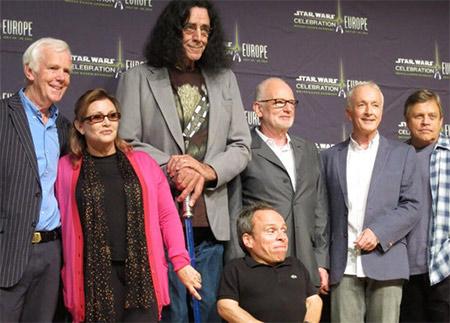 glumci iz filma Star Wars