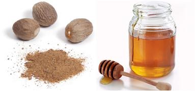 Tonik od meda i muskatnog oraščića