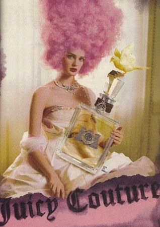 Juicy Couture reklama za parfem iz 2009 godine