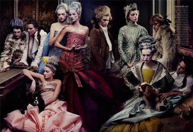 French Twists za majsko izdanje Vogue iz 2004 godine