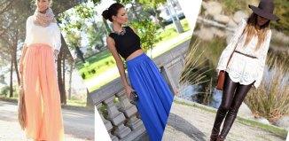 modne kombinacije za prolece 2014