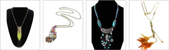 Dugačke ogrlice za prolece
