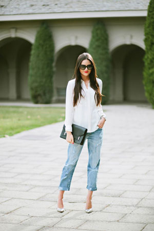 Bele bluze