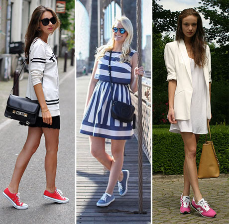 Koji stil haljina možete nositi sa patikama