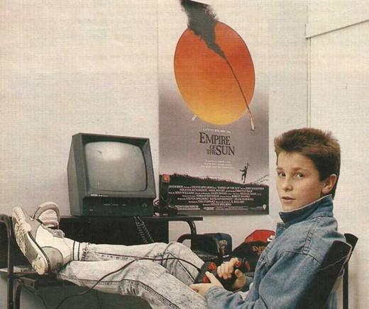 Christian Bale kao tinejdzer