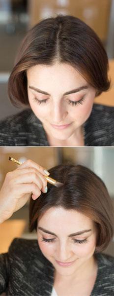 Senka za oči u službi lepše kose