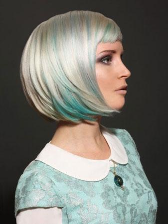 bob frizura u koloru