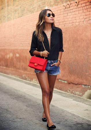 Chanel 2.55 crvena torba