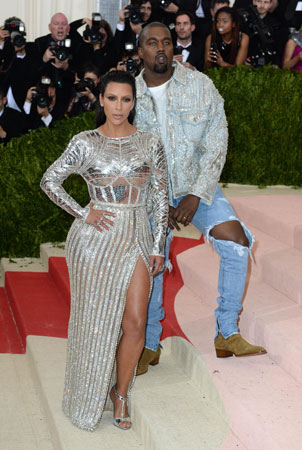 Kim Kardashian na Met Gala 2016