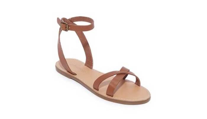 Madewell Boardwalk Wrap sandale