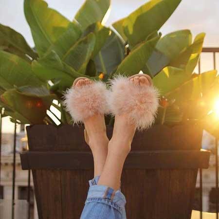 Papuče sa krznom