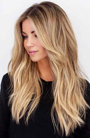 Popularne frizure za dugu kosu -  duga slojevita frizura