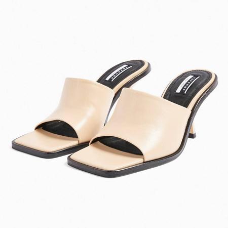 krem mules papuce