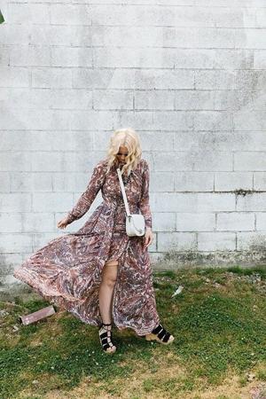 cipele sa platformom uz duge haljine