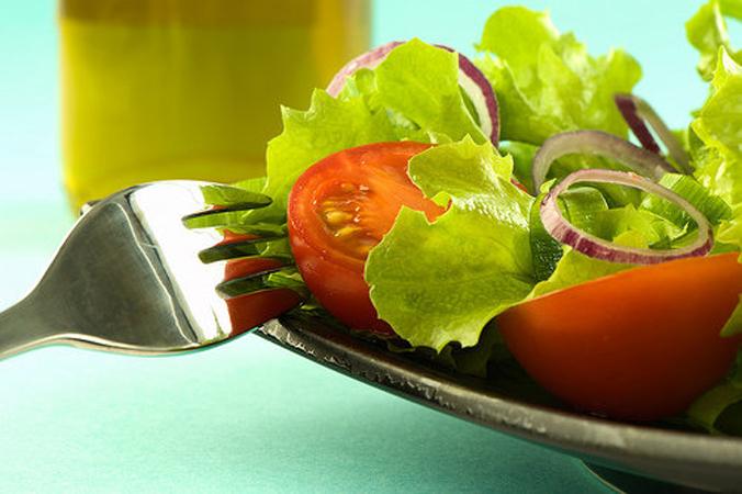 sta jesti a mršaviti- salata