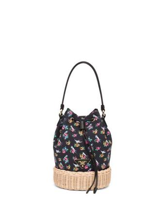 zenske torbe za leto- cvetna kofica