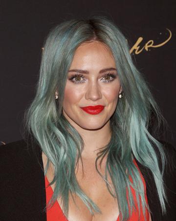boja kose za leto- morska sirena stil