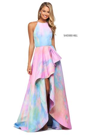 asimetricna ombre haljine za maturu