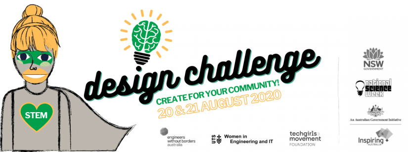 Design Challenge Create for your community 20 & 21 August 2020