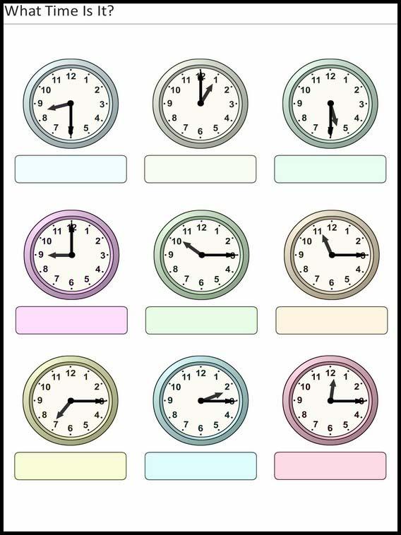 Velser For Barn Hva Er Klokken 8