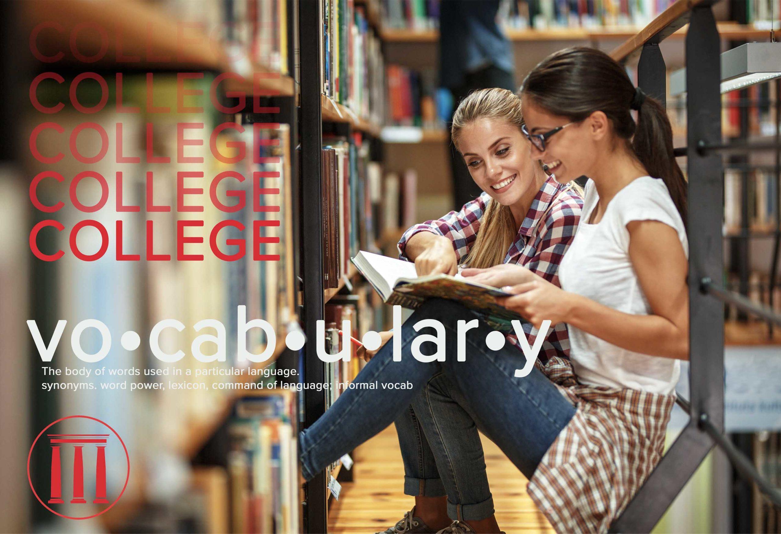 College Vocabulary header pic