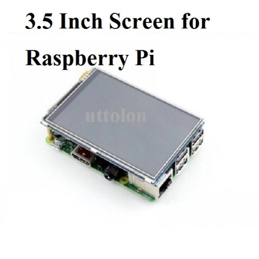 3.5 inch 480×320 TFT Display with Touch Screen for Raspberry Pi