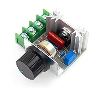 2000W AC Motor Speed Controller 50A 50-220V Adjustable Voltage Regulator Motor Speed Controller