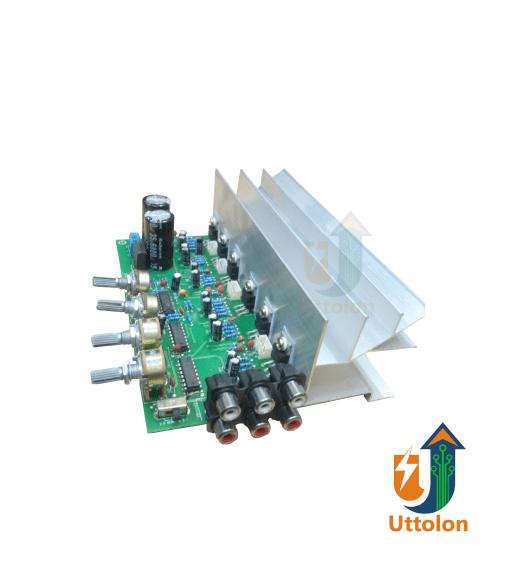 LM1875 5.1 Channel Audio Amplifier Board TDA2030 6*18W 6 channels Surround Center Sub woofer Power Amplifiers