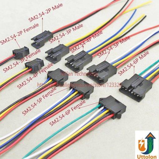Male Female Connector Plug Cables DIY JST Molex Pico Blade Plug Flexible Cable Wire