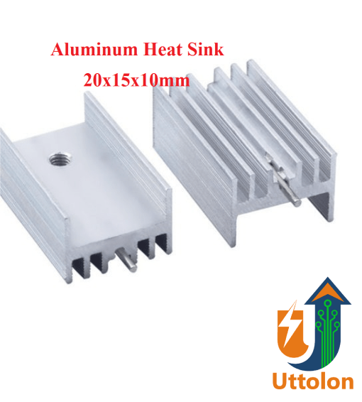 Aluminum Heat Sink For IC, MOSFET, Transistor