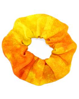 Metsä Orange Scrunchie