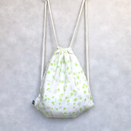 Terrazzo Spring drawstring bag
