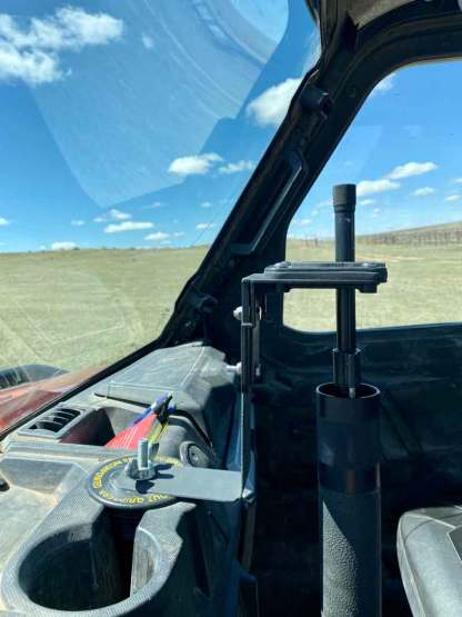 Ranger Cup Holder Gun Rack Mount