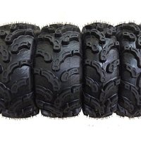 Set of 4 New Premium WANDA ATV/UTV Tires 25x8-12 Front & 25x10-12 Rear /6PR P375 10212/10215