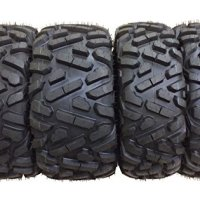 Set of 4 New WANDA ATV/UTV Tires 27x9-12 Front & 27x10-12 Rear /6PR P350 - 10170/10172