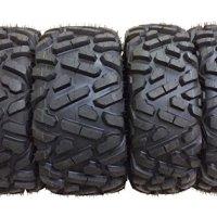 Set of 4 New WANDA ATV/UTV Tires 27x9-12 Front & 27x10-12 Rear /6PR P350 - 10170/10172