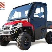 Curtis Industries Polaris Ranger (2010 & 2011) RCS Cab Enclosure. Complete, With or Without Doors. 1POLRC5