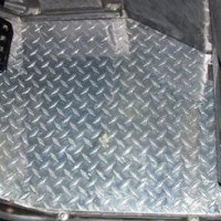 Extreme Metal Products Yamaha Rhino Diamond Plate Floor Board. Custom CNC Cut. Drive and Passenger. All Hardware. 10045