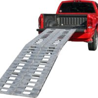 "Premium 120"" Heavy Duty Fold Ramps to load Motorcycles,ATV's,UTV's & Tractors (Pair)"