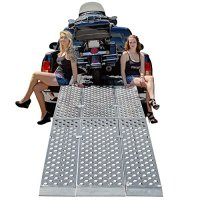 10 ft. Folding 3-pc EZ-Rizer Aluminum Motorcycle Loading Ramp System