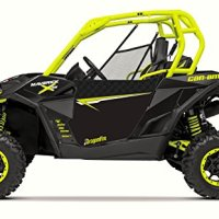 Dragonfire Racing Can Am Maverick Hiboy Doors w/ Carbon Manta Graphics