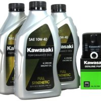 Kawasaki TERYX 750 FI 4X4 Full Synthetic Oil Change Kit