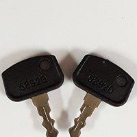 Pair (2 keys) Keyman Kubota RTV 900 Key-Fit Kubota RTV UTV Utility Vehicles B BX F GR ZD RTV500 RTV900 68920 P5