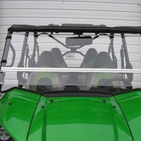 Kawasaki Teryx 2016-2017 (2/4seater) FULL-TILT WINDSHIELD. We need to know what kind of roof you have Hard/Soft? Check email/junk file for message after order is placed.