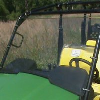 "John Deere Gator 550,550 S4,850i Clear Full Front Windshield...A Full 1/4"" THICK"