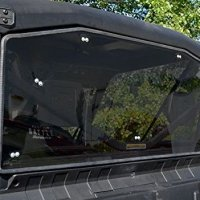 Super ATV Can-Am Defender Scratch Resistant Rear Windshield Tinted